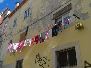 Laundry day in Lisbon?