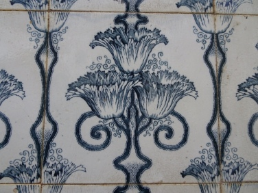 Love this tile.........I think when looking at it, everybody will see something different.