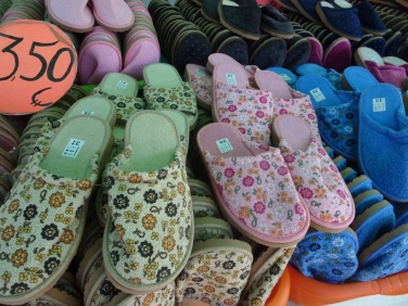 Slippers for 3,50!! And good quality.