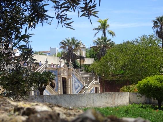 Part of the Pousada gardens.