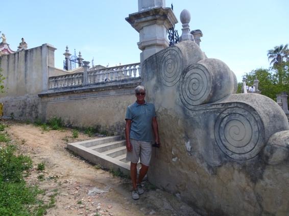 The Pousada wall