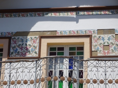 Detail on a house in Tavira.